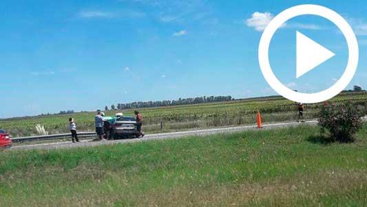 Caos, demoras y choques en el regreso de turistas por Autopista