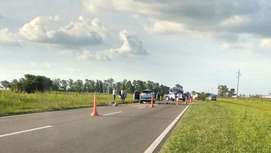 choque fatal ruta 158