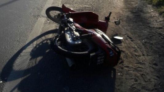 Tres accidentes de tránsito con lesiones leves en la ciudad