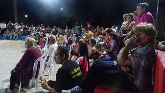 El concurso de cantores en Villa Nueva es todo un suceso