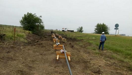 Comenzó la obra del gasoducto troncal en ruta 2
