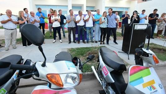 Cada Municerca tendrá una moto para relevar los barrios