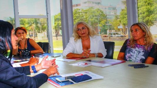 Leones: reunión por actividades de la UNVM en la ciudad