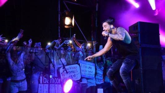 El documental de Maluma con un guiño al Festival de Villa María