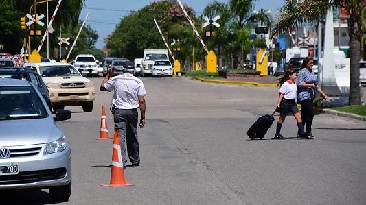 Controlarán faltas de tránsito a la entrada y salida de escuelas