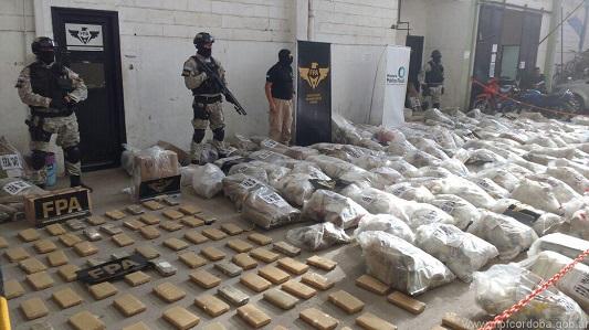 Detruyeron droga secuestrada en Córdoba por más de $ 41 millones