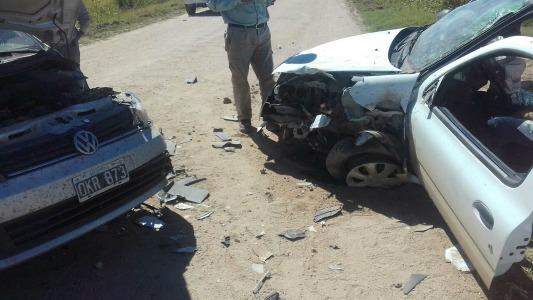 Choque con heridas graves en la zona rural de La Playosa