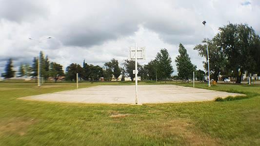 cancha de basquet chanchodromo