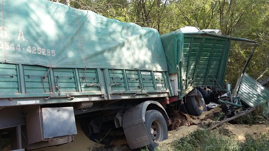 Un muerto en un choque sobre Ruta 158 cerca de General Cabrera