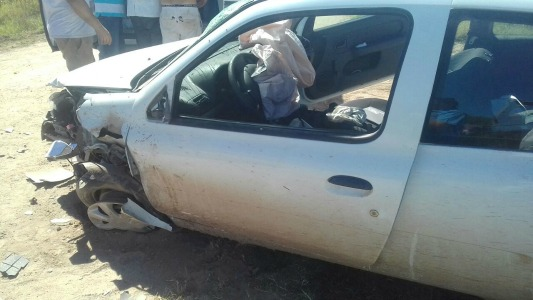 choque zona rural playosa accidente