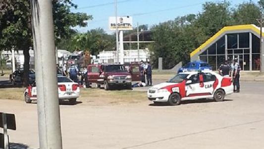 policia operativo avenida peron