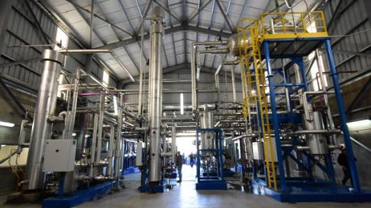 Chiantore inauguró una planta de gas carbónico en ACA Bio