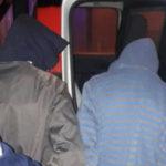 adolescentes detenidos policia