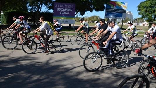 Más de 100 personas en la bicleteada por el Parkinson