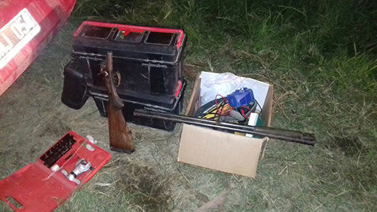 operativo interfuerzas 7 detenido arma