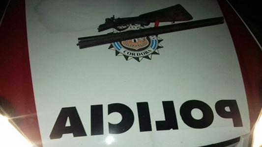 operativo interfuerzas 8 detenido arma