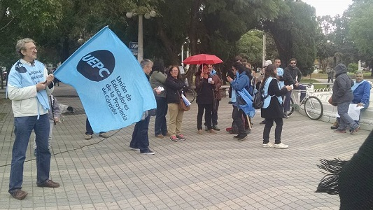 Paro docente: UEPC adhiere a medida de fuerza nacional de Ctera
