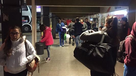 Estaba en la Terminal de Villa María joven belvillense que buscaban