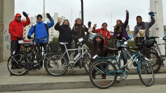 Bicicleteadas para fomentar el uso del transporte alternativo