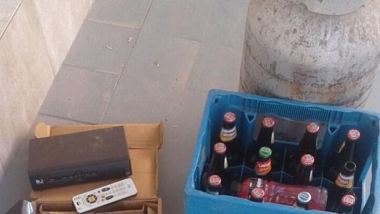 Hallaron una garrafa y elementos abandonados en un baldío