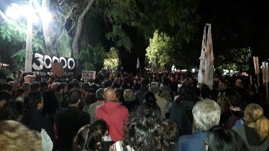 Concentración en Villa María contra el 2×1 de la Corte