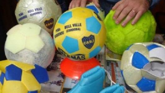 En Bell Ville filman la historia de la pelota de fútbol