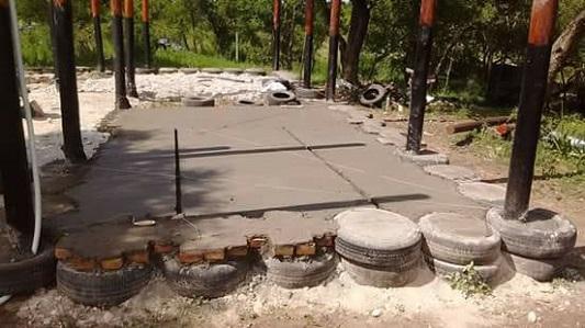 cimientos casa barro