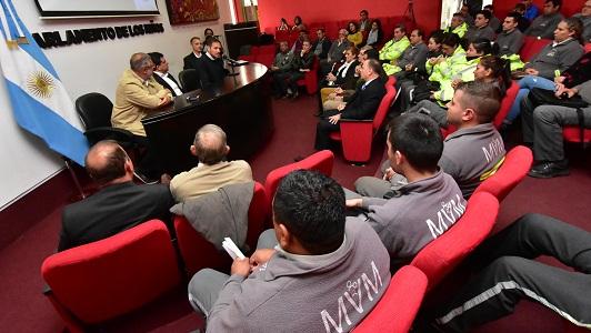 Crean una escuela para los agentes de Seguridad Ciudadana
