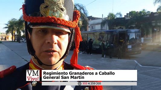 Un museo rodante para conocer a San Martín y sus Granaderos