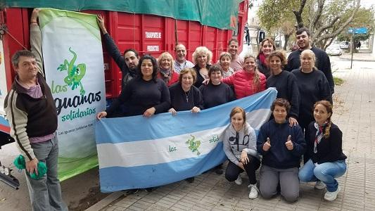 iguanas solidarias donaciones santiago del estero