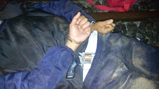 Lo atraparon con un revolver cargado cerca de Tío Pujio