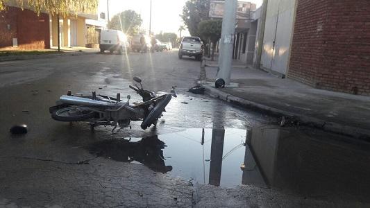 Sigue en estado crítico la mujer accidentada en barrio San Justo