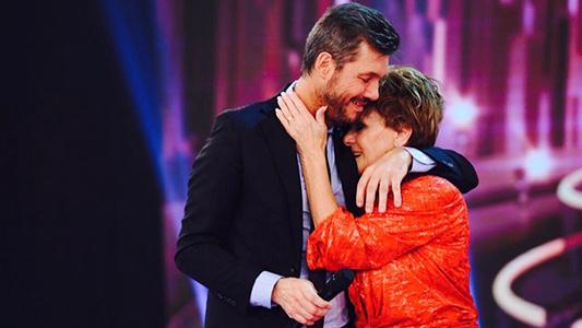 peppino abrazada tinelli