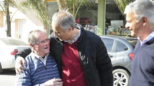 """Baldassi y Capitani sumaron la ciudad al """"timbreo"""" nacional de Cambiemos"""