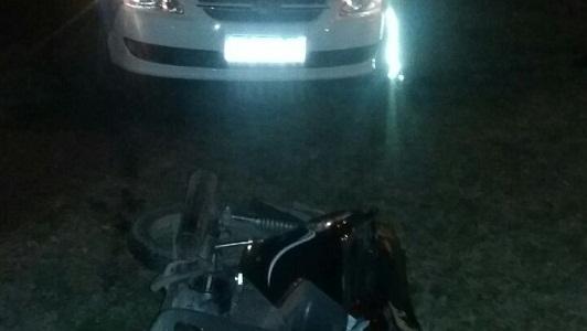En el Parque Pereira y Dominguez encontraron una moto robada
