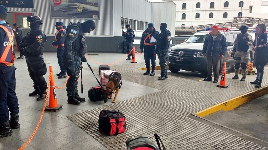 Terminal de Córdoba: buscan droga en equipajes y encomiendas