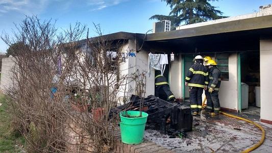 incendio hogar villa nueva