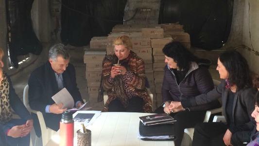 ¿Qué le pidieron a Macri cuando estuvo en Villa María?