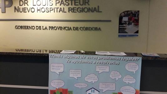 Pacientes del Pasteur serán asesorados en sus derechos