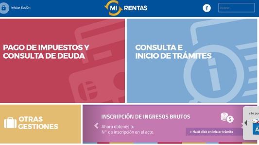 Los comprobantes de pago de Rentas se pueden consultar online