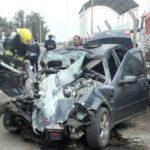 accidente balanza vialidad nacional ruta 158