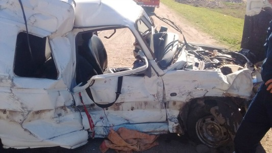 Choque en ruta 9 y Jauretche: Mujer accidentada perdió el embarazo