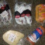alimentos picada salchichon chorizo queso