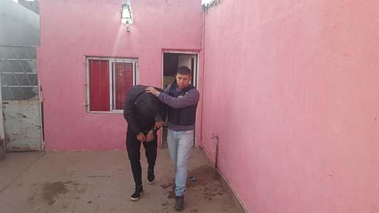 Fotos del allanamiento en La Calera por intento de homcidio