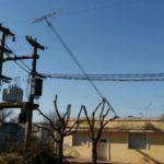 antena caida corte de energia