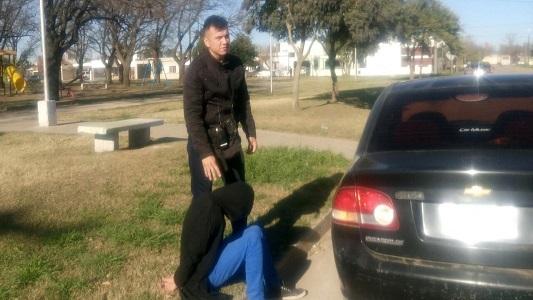 Le robó a un menor de 14 años con un arma y quedó detenido
