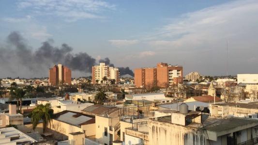 incendio en barrio los olmos 2