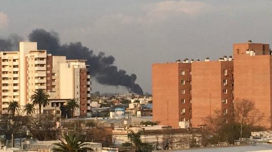 incendio en barrio los olmos1