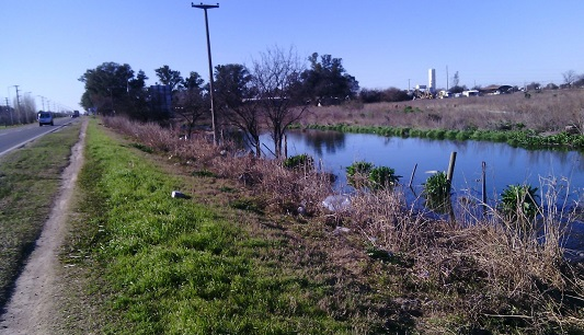 laguna mal olor ruta 158