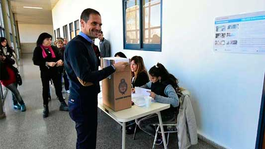 Votos compartidos del intendente y los candidatos provinciales